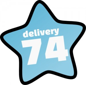 Logo delivery74