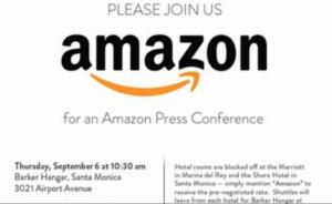 Amazon Kindle Event